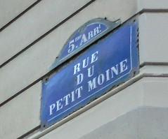 rue du Petit Moine 1