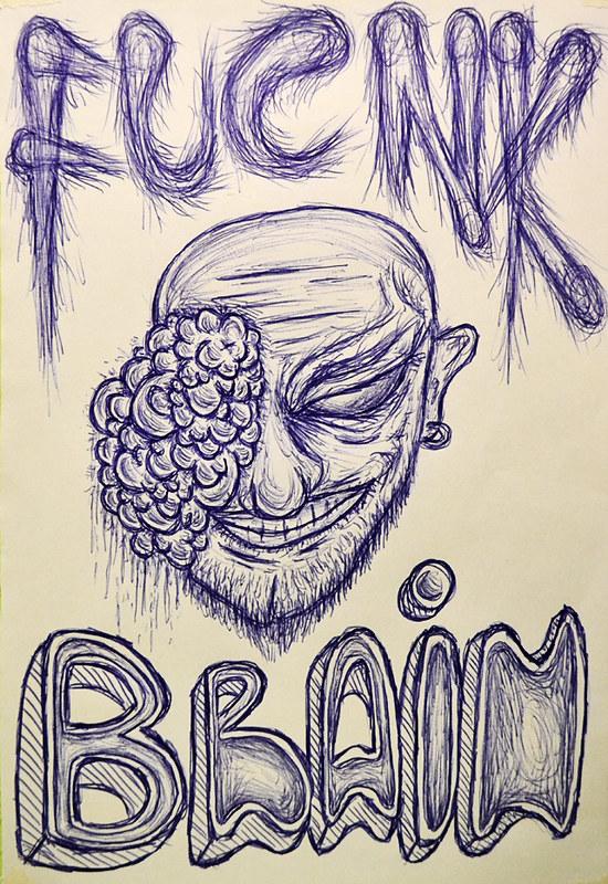 Fucnk Brain Sketch