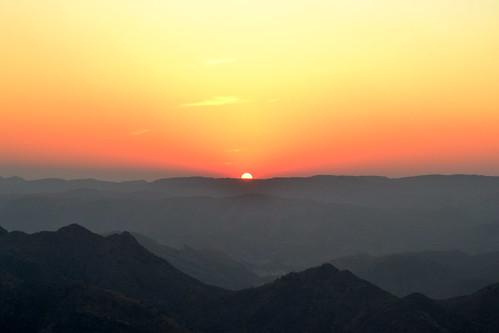 Sunset over Udaipur (Rajasthan, India)