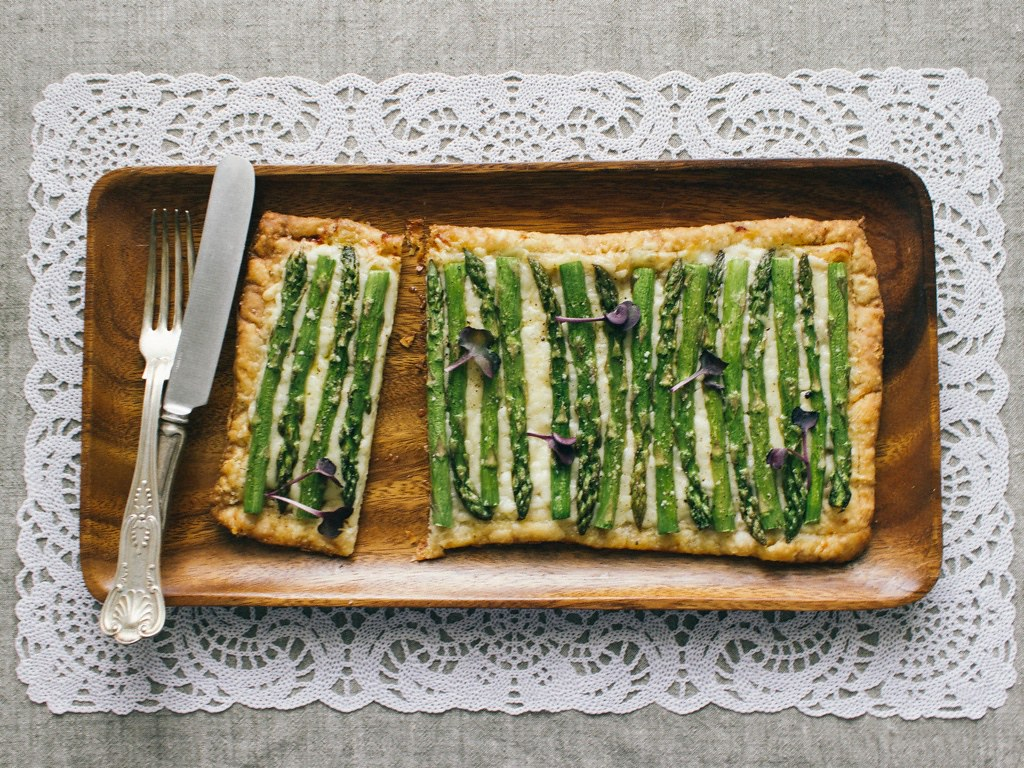 Three-Ingredient Asparagus Tart