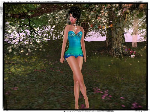 *MonCheri* Vintage Swimsuit -Mermaid- (not free) by Cherokeeh Asteria