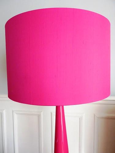 La lampe rose