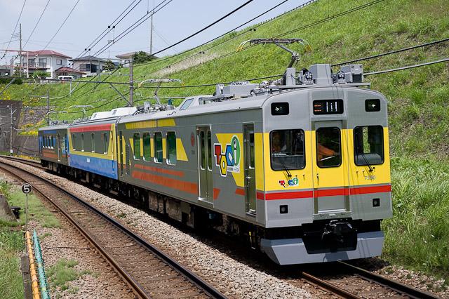 東急電鉄 デヤ7500系 TOQi サヤ7590組込試運転