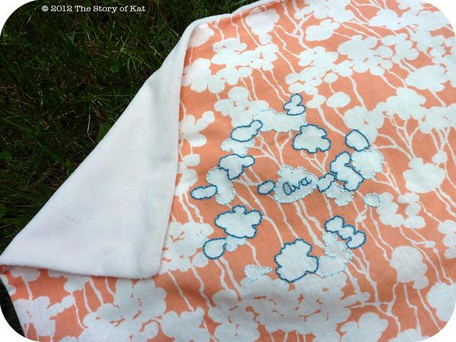 Ava's Blanket, detail