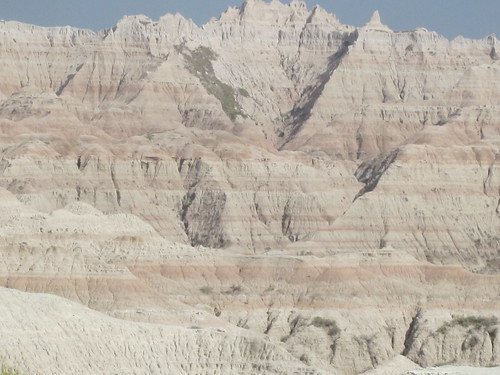 Rock Layers in the Badlands