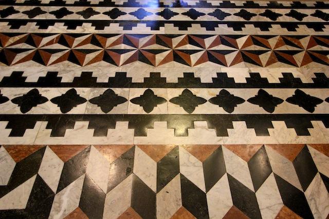 Siena Duomo tiled floor pattern3