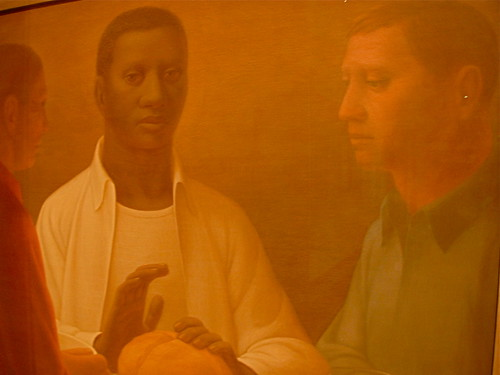 George Tooker, Supper