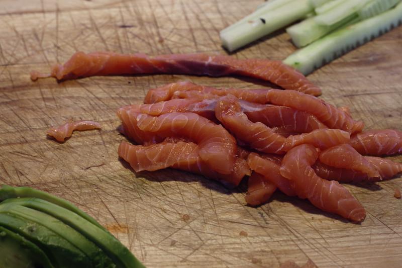 salmon cortadito