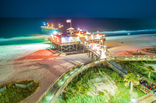 morning travel vacation usa sc night sunrise photography myrtlebeach evening photo nikon southcarolina palmtrees boardwalk hdr palmetto broadwayatthebeach pier14 digidreamgrafixcom