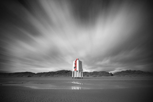 Seeing Red - Burnham Lighthouse.