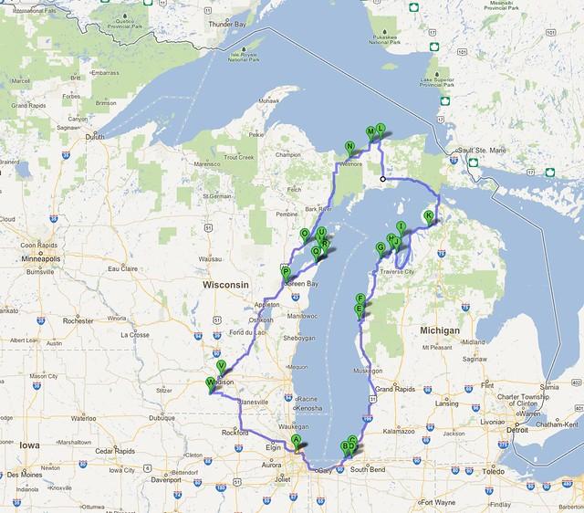 Lake Michigan Tour