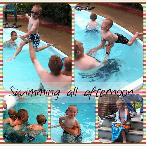 4th of joolie swimming