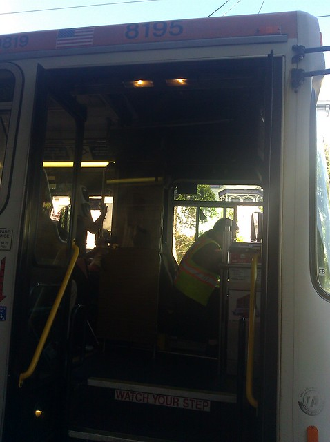 49 bus with broken lift