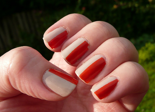 nude orange fifty fifty
