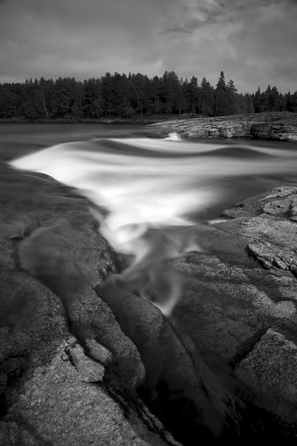 longexposure trees blackandwhite water finland rocks rapids lapland canonef24105mmf4lis kattilakoski