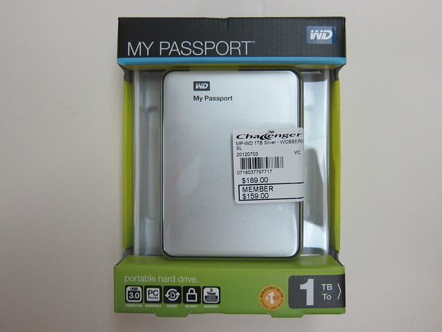 Western Digital My Passport 2012 (1TB) - Box Front