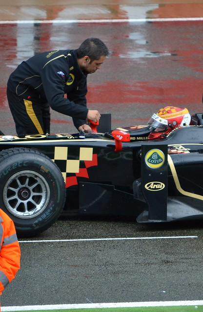 James Calado, GP2 Race 1, British Grand Prix 2012