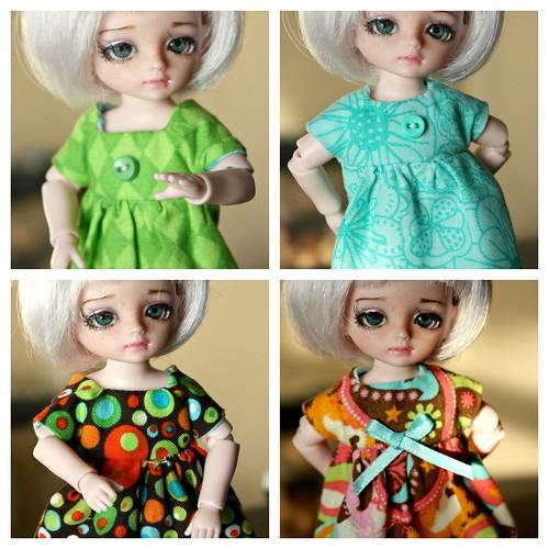 Tallulah's New Dresses