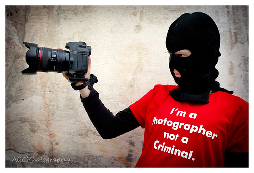 I'm A Photographer Not a Criminal