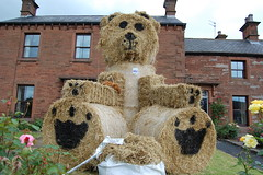 Biggest scarecrow there!