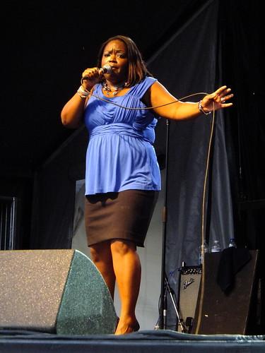 Shemekiah Copeland at Ottawa Bluesfest 2012