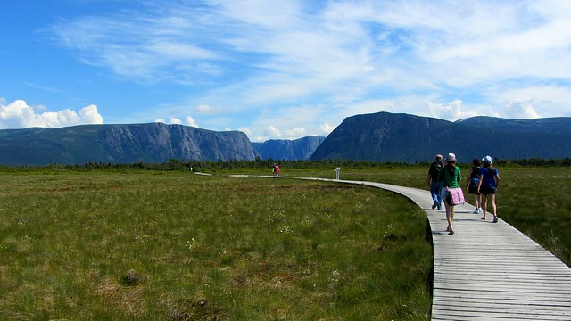The Path to Western Brook Pond