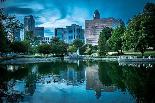 charlotte uptown by DigiDreamGrafix.com
