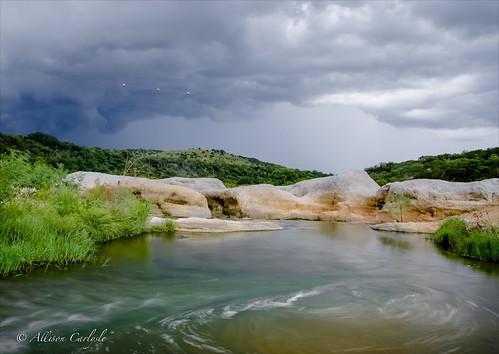 Pedernales Falls 7-15-2012 by Allison C. Carlysle