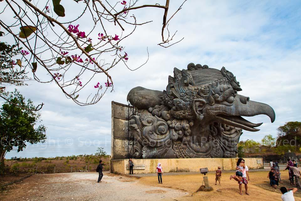 The Statue of Garuda @ Garuda Wisnu Kencana Park (GWK), Bali, Indonesia