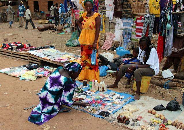 Rural African Market