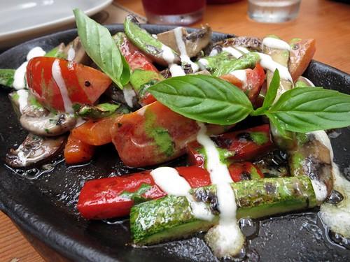 Brasa de vegetales