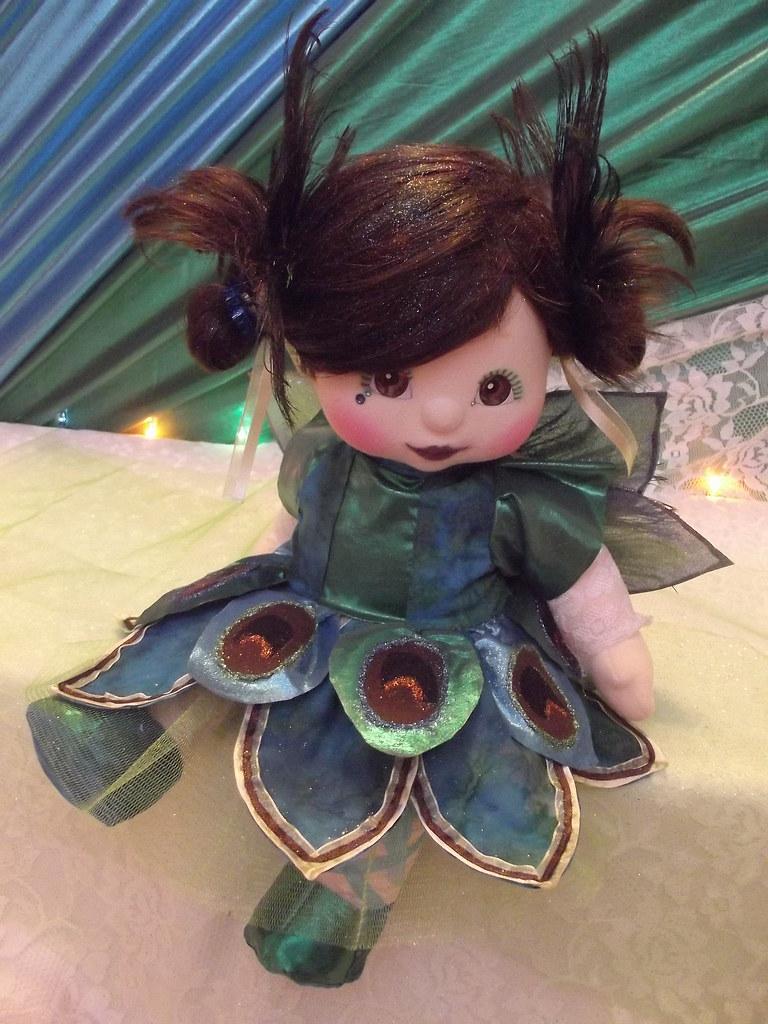 OOAK Peacock Doll Künstler- & handgemachte Puppen Puppen & Zubehör