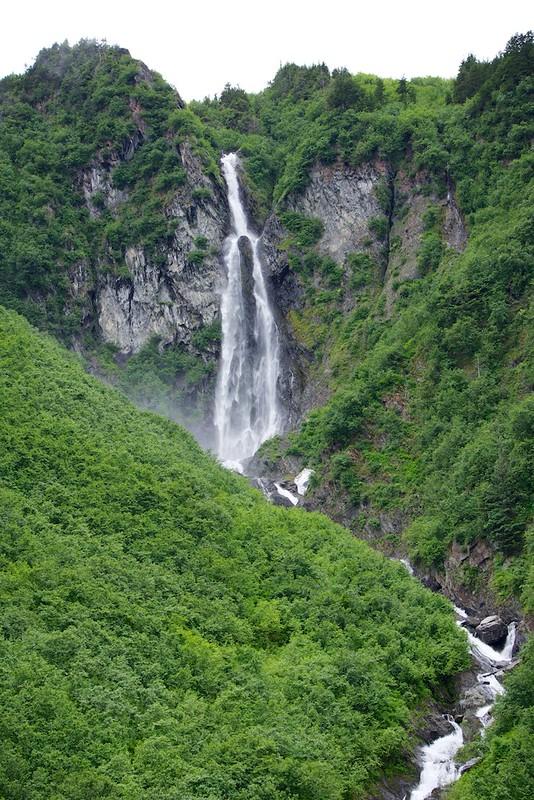 waterfall valdez coast