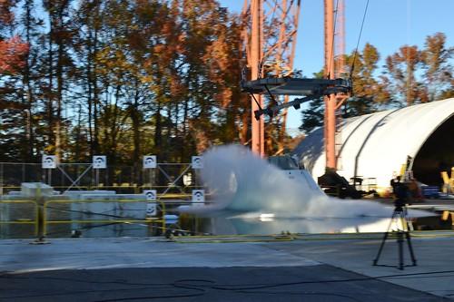 Orion Drop Test - Splashdown!