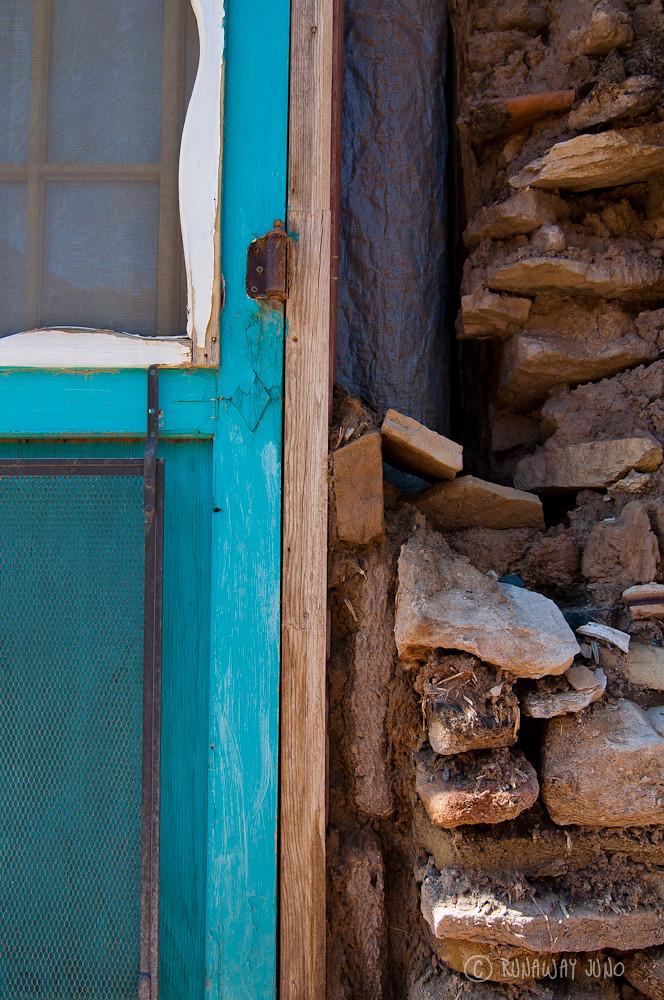 Acoma Pueblo building detail