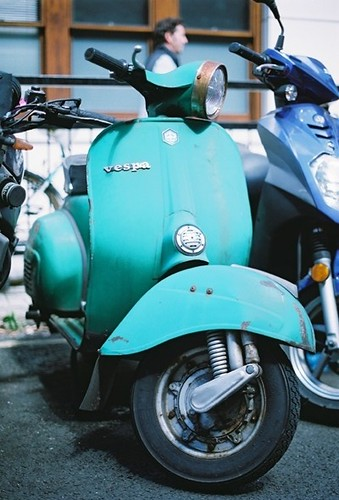 Green Sprint Veloce by Vespamore !