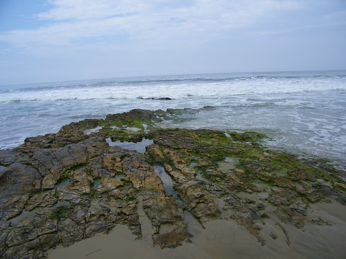 Visit to Crystal Cove State Park (Laguna Beach, California) - Friday July 13, 2012