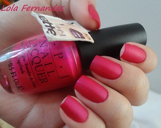 La Paz-Itively Hot - Matte (OPI)