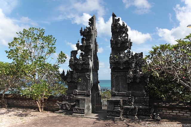 One of Bali's beautiful decorative entryways