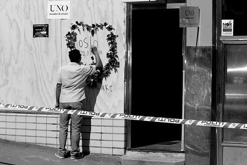 The days after #osloexpl #utoya #norway @Heidenstrom-032 by @heidenstrom