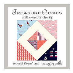 Treasure Boxes Quilt Along