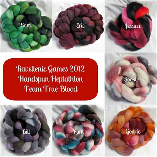 Entries for Handspun Heptathlon