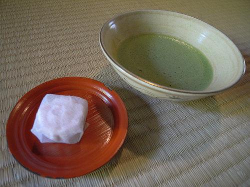 お抹茶と香藕園@當麻寺中之坊-03