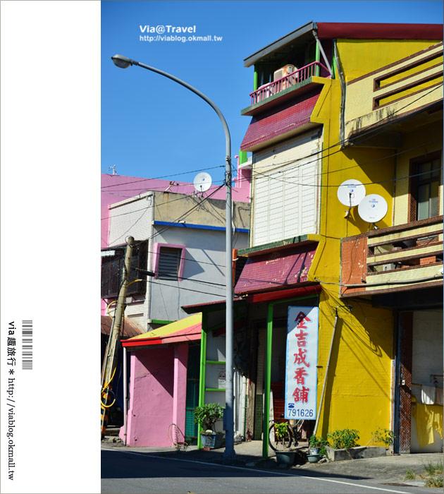 【台東新景點】台東大武彩虹街~全台最夢幻的彩色街弄!11