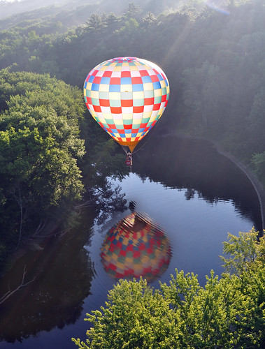Balloon and Reflection by drurydrama (Len Radin)