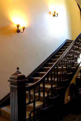 Wheeler Mansion Interior Staircase
