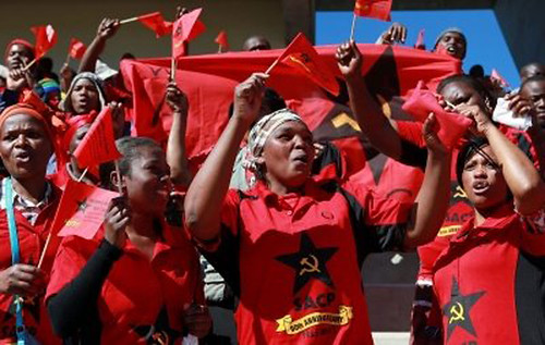 Delegates at the South African Communist Party (SACP) Congress held in July 2012. by Pan-African News Wire File Photos
