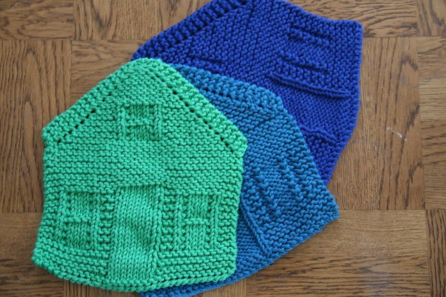 dishcloth houses