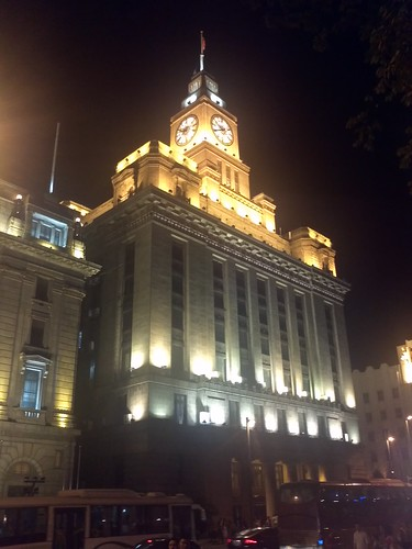 Dinner and the bund