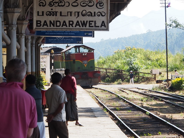Train bound for Badulla